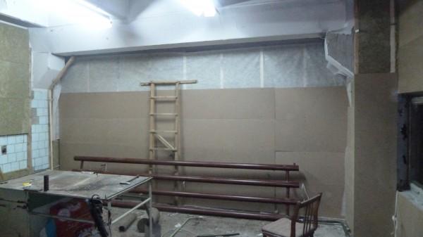 Левая стена будет из двух слоем МДФ 6 мм каждый