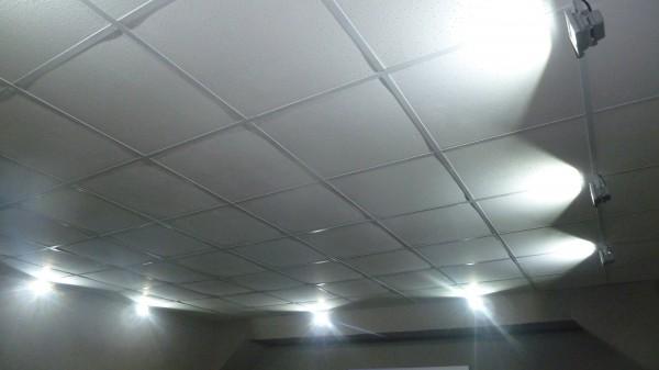 Конечный вид подвесного потолка